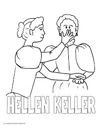 History Coloring Pages Volume 4 Helen Keller