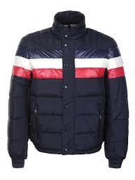 2015 Moncler Striped Technical Menuire Men Jackets Cream MJ024,moncler  jackets on sale,Shop Best Sellers