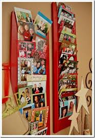 Christmas Card Display Stand 100 DIY Christmas Card Holders Tip Junkie 48