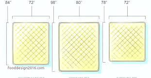 Full Xl Bed Size Full Mattress Measurements Full Mattress Size S Set ...