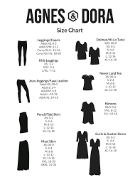 Hsn Size Chart Agnes Dora Size Chart Plus Size Casual Style Beach Babe