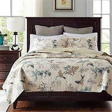 100 cotton bedding sets. Delighful 100 FADFAY 100 Cotton Bedspread Sets Country Comforter Birds Printing  Queen Quilt Set With Pillowcases Intended 100 Bedding E