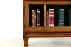 solid oak bookcase oak bookcase with glass doors mission oak bookcase glass doors craftsman house find