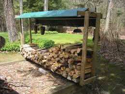... Rack, Diy Wood Outdoor Firewood Rack Ideas: Unique Outdoor Firewood  Rack Ideas ...