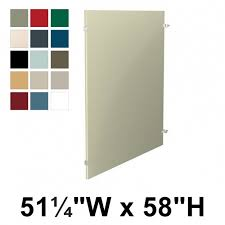 Bathroom Stall Partitions Amazing Bradley Toilet Partition Panel Metal 488 48848W X 48H Quick Ship