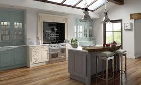 painted kitchensJefferson Classic Ivory Powder Blue  Dust Grey  Kitchen Stori