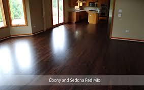 dark staining hardwood floors