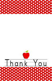 Printable Thank You Cards For Teachers Free Printable End Of The Year Thank You Cards And Tags