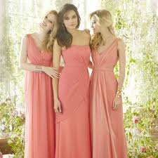 Peach Bridesmaid Dresses Hitched Co Uk