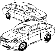 Contemporary automobile drawings pattern diagram wiring ideas