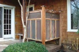 Outdoor Showers Are A Great Fit For Deck Builders Whether Private Refuge Outdoorloving Clients Or Place To Rinse Off Salt And Sand At Beach