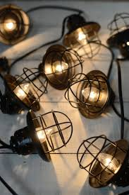 columbus cafe outdoor lighting. metal lantern string lights black 10ct they have such an adorable vintage look columbus cafe outdoor lighting
