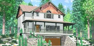 walkout house plans house plan with t basement unique hillside plans on t basement house plans walkout house plans