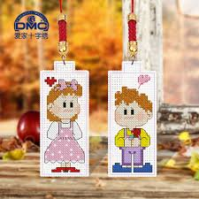 get ations dmc cross stitch sided embroidery phone chain pendant simple small pendant diy heart 45 64
