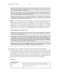 Certified Developer Resume Cv Example Java Programmer Java Developer Resumes