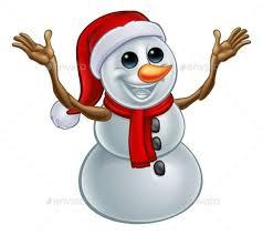 <b>Snowman Christmas</b> Santa Hat <b>Cartoon</b> (With images) | <b>Christmas</b> ...