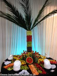 Easy Wedding Reception Food  Wedding ReceptionFresh Fruit Tree Display