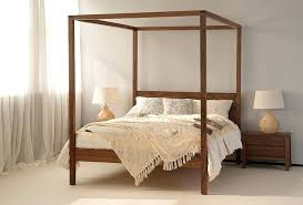 Four Post Bed Wooden Post Bed Frames Bed Frame With Posts 4 Post Bed ...
