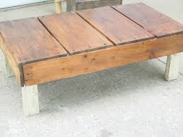 rustic coffee table sold