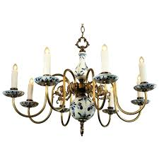 chandeliers blue delft chandelier and white circa 1 attractive photo 3 of 7 chandeliers