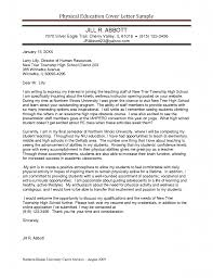 Cover Letter Example Of Cover Letter Special Ed Letter Education
