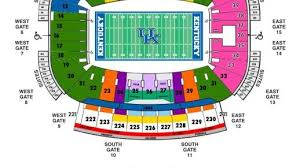University Of Kentucky Stadium Seating Chart Kentucky Announces Preliminary Ticket Prices For Renovated