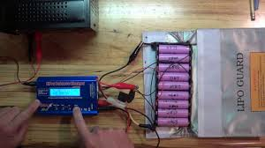 diy solar and 18650 lithium battery balance charging with the imax b 6 success