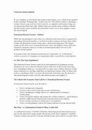 Functional Resume Format 100 Luxury Hybrid Resume format Resume Templates Blueprint 52