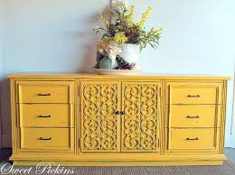 yellow furniture. Colorful Furniture Makeovers Yellow