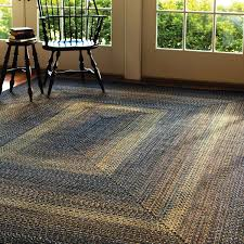 last chance indoor outdoor braided rugs black forest homee