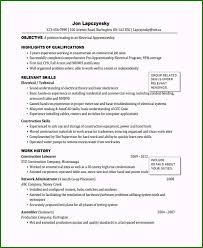 Electrical Apprentice Resume Samples Fascinating Electrician Resume Sample You Must Try Nowadays