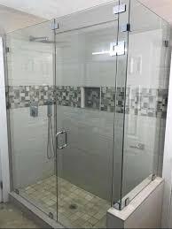 photo of miami frameless shower doors miami fl united states l shape