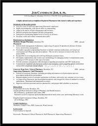 Canada Pharmacist Resume Sales Pharmacist Lewesmr