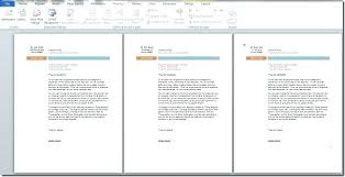 Letter Format Word 2010 Word Mail Merge Letter Template Word 2010 Cover Letter