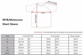 short size size guide rocky cycling online store