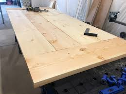 diy outdoor table top. diy- farmhouse table build, truss beam table, outdoor woodworking project, diy top