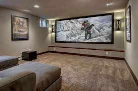 Designer Basements Stunning 48 Basement Home Theater Design Ideas For Entertainment Basement