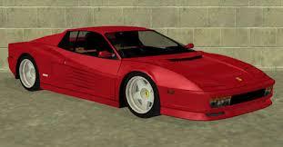 Gta Modding Com Download Area Gta San Andreas Cars Ferrari Testarossa