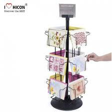 fresh appreance tabletop card rack countertop greeting card display stands