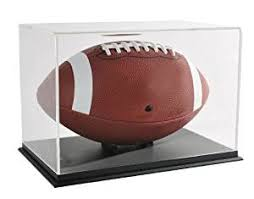 Football Stands Display Amazon SNAP Acrylic Football Display Case 100FP100 Home 25