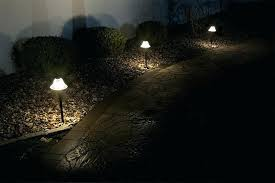 led pathway lights landscape lighting path frosted glass outdoor sets s57