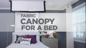 Easy DIY Canopy Bed Video | HGTV