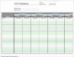 Excel Employee Schedule Template Weekly Inspirational Work Week