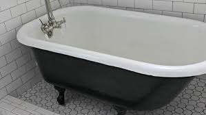 painting a cast iron bath using the correct cast iron bath paint diy doctor