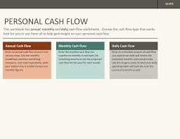 Simple Cash Flows Simple Personal Cash Flow Statement