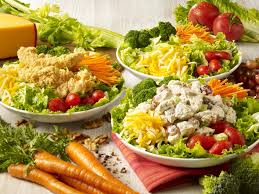 fresh garden salad with chicken. Unique Fresh Salads Inside Fresh Garden Salad With Chicken A