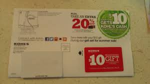to kohls to use my 10 promotional gift card and i ll share with everyone what i find did you get your card feel free to share what you got with your