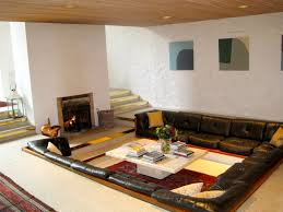 Low Seating Furniture Living Room Furniture Accessories Ideas Of Sunken Seats Make Living Room