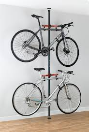 Platinum Series 2 vertical bike storage rack for apartment design