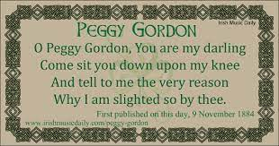 Peggy Gordon – lament of a slighted lover - Irish Music Daily